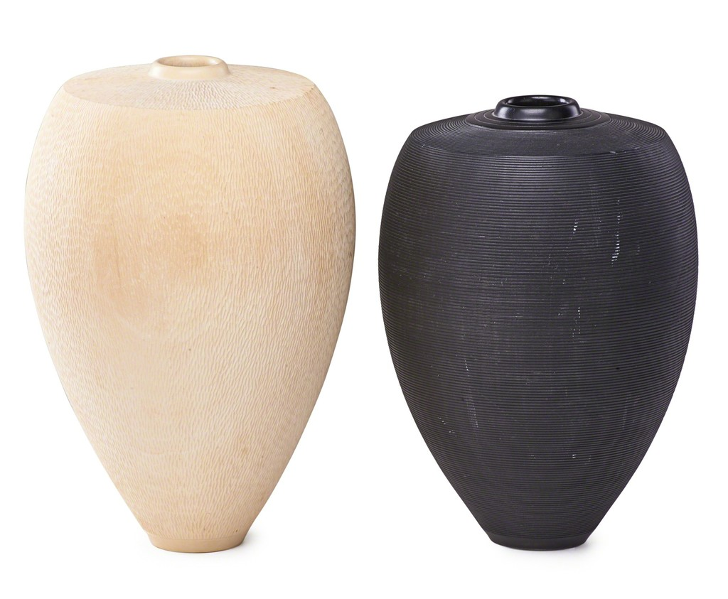 John jordan turned wood vases artsy john jordan turned wood vases rago reviewsmspy