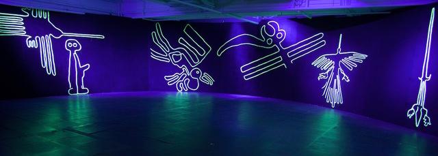 , 'Neon Wilderness: Nazca Lines,' 2018, de Sarthe Gallery