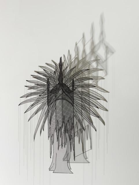 , 'Emperor's Headdress,' 2017, Leila Heller Gallery