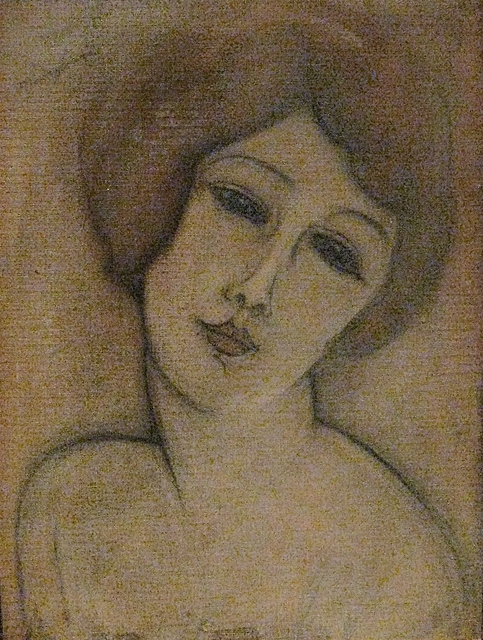 , 'Buste d'une jeune femme,' 1917, Gallery On The Move