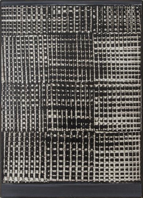 , 'Dynamische Struktur Schwarz-Weiß,' 1959, Beck & Eggeling