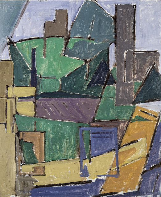 , 'House and Tree Shapes,' ca. 1916, Hirschl & Adler Modern