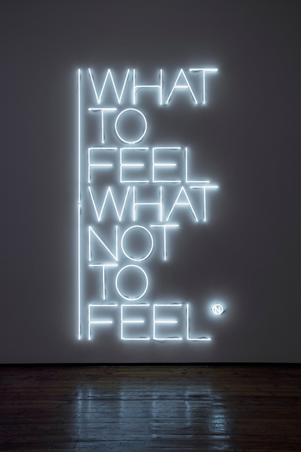 , 'What to feel what not to feel,' 2017, Galleria Fumagalli