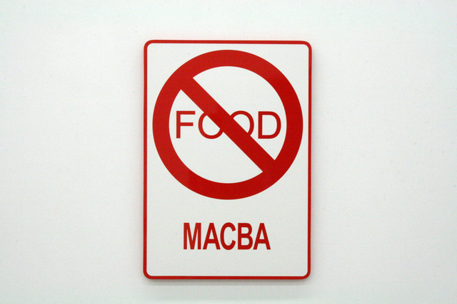 , 'Power Food Museos, Macba,' 2009, Moisés Pérez De Albéniz