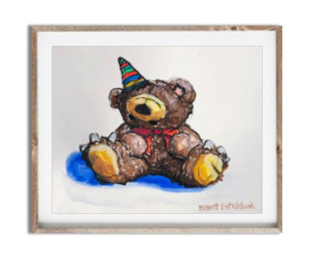 , 'Birthday Bear,' 2018, Mugello Gallery