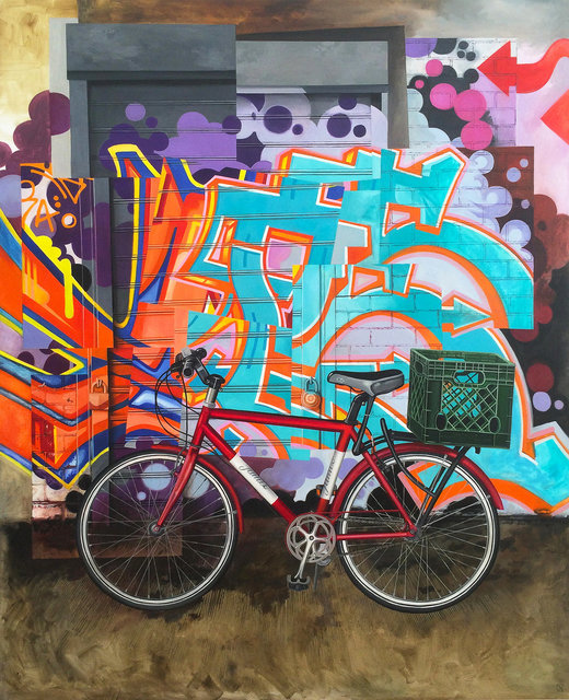 , 'Brooklyn Bicycle II,' 2015, Hashimoto Contemporary