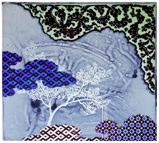, 'a reservoir of moonstone,' 2014, bardoLA