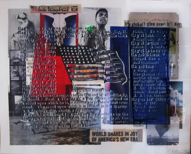 Peter Tunney, 'U.S. Flag', Rush Philanthropic Arts Foundation Benefit Auction