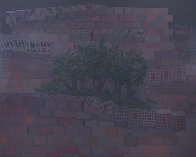 Dragan Bibin, 'The Walled Garden', 2020, Painting, Oil on linen, Laufer