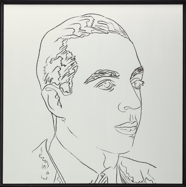 Andy Warhol, 'Vincente Minnelli', 1979, Print, Synthetic polymer paint and silkscreen ink on canvas, Heritage Auctions