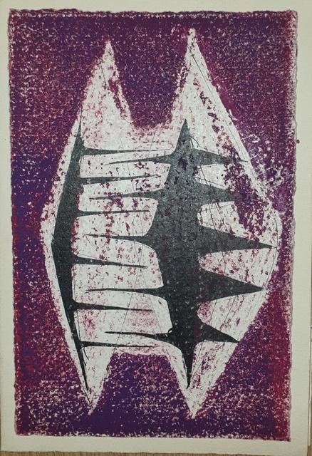 , 'Untitled Card,' ca. 1950s, Osborne Samuel