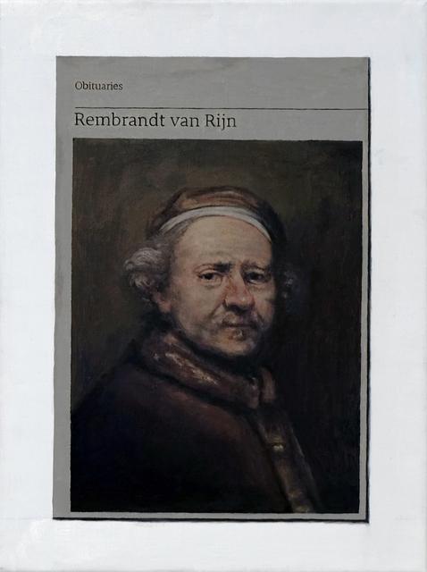 , 'Obituary: Rembrandt van Rijn ,' 2019, Charlie Smith London