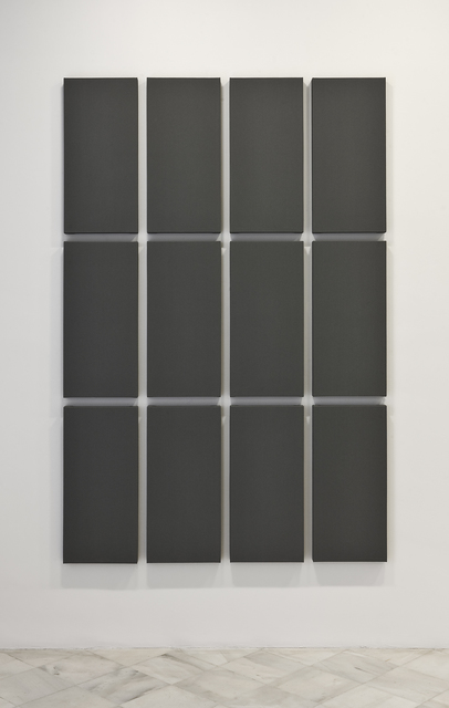 , 'Grid Painting '3 x 4',' 2009, Miguel Marcos