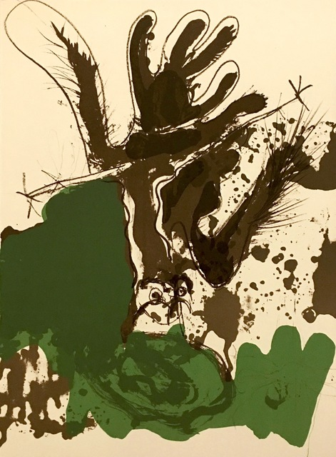 Paul Rebeyrolle, 'From 'Derrière Le Miroir - Rebeyrolle'', 1969, Eames Fine Art