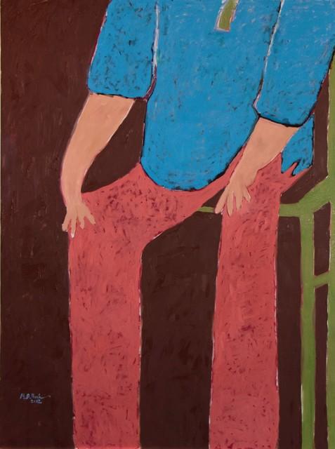 , 'Sitting Man,' 2012, Lawrie Shabibi
