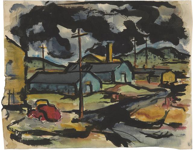 Richard Diebenkorn, 'Untitled', 1945, Richard Diebenkorn Foundation