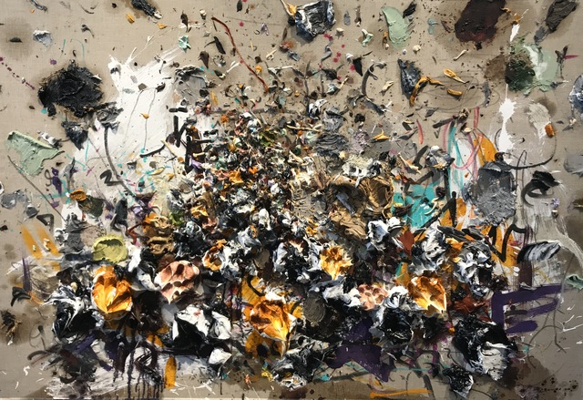 , 'OCHER XVI,' 2017, Aurora Vigil-Escalera Art Gallery