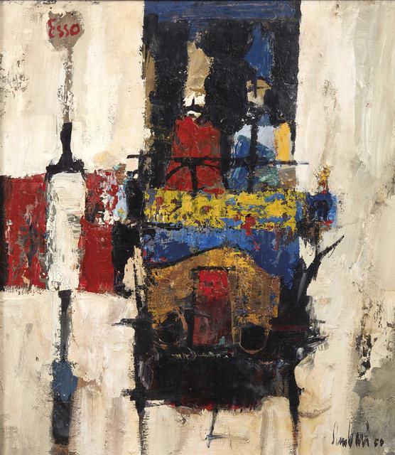 Nicola Simbari, 'Cars and pumps', executed in 1950, Pandolfini