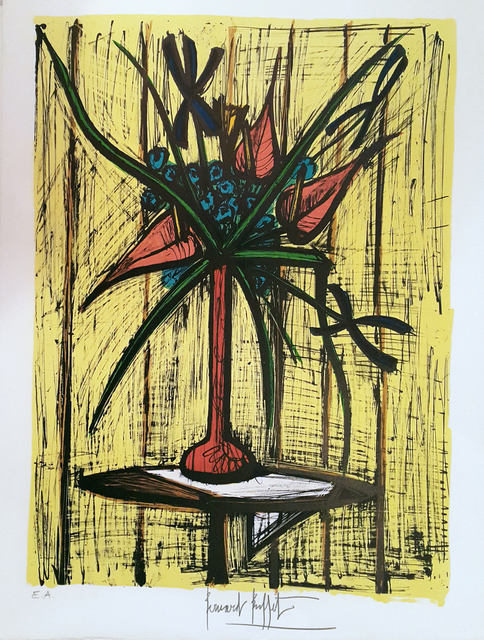 , 'Anthuriums et Iris,' 1981, Art Works Paris Seoul Gallery