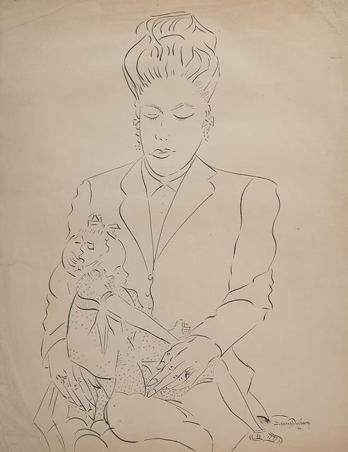 , 'Untitled (Woman and Child),' 1944, Francis M. Naumann Fine Art