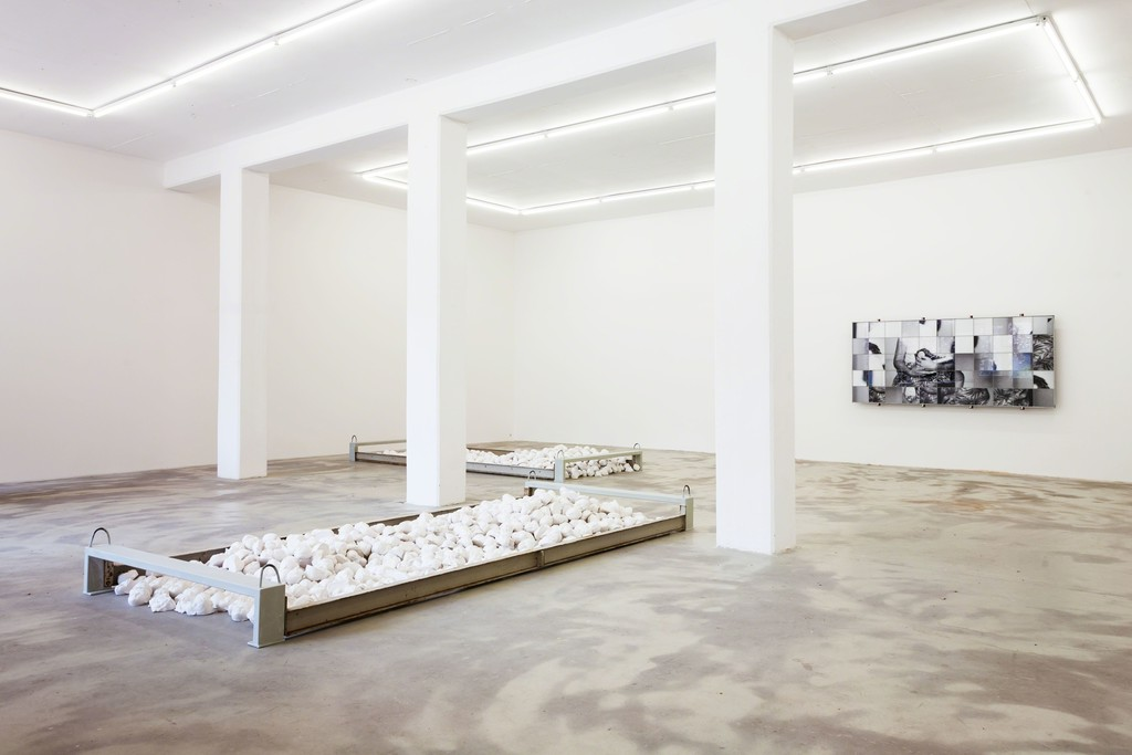 exhibition view 'two thousand profiles', Klemm's, Berlin 2015