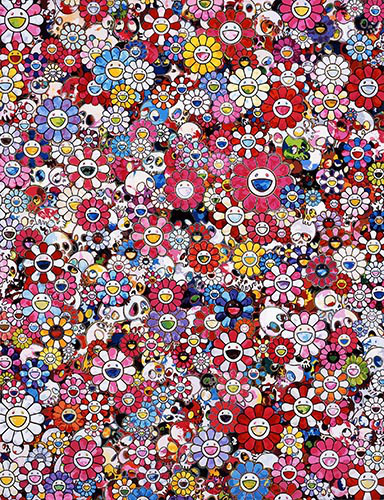 Takashi Murakami, 'Dazzling Circus: Embrace Peace And Darkness Within Thy Heart', 2016, Dope! Gallery