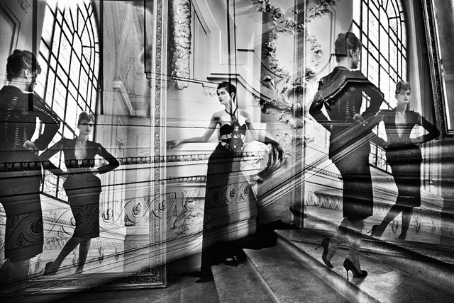 Nicolas Ruel, 'Maison Gaultier 15 (Paris, France)', 2012, Photography, Photographie imprimee sur acier inoxydable / Photograph printed on stainless steel, Galerie de Bellefeuille