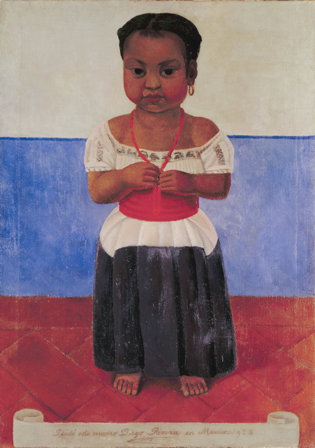 Diego Rivera, 'Indian Girl with Coral Necklace', 1926, San Francisco Museum of Modern Art (SFMOMA)