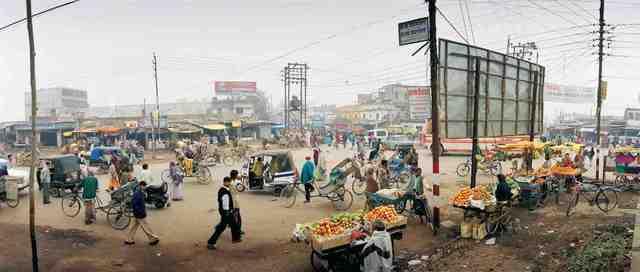 , 'India, Uttar Pradesh, Transit Road.,' 2001, Anastasia Photo
