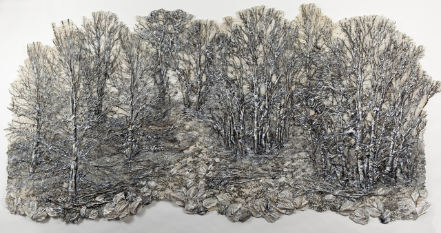 , 'SILVER FOREST 3,' 2015, Tansey Contemporary