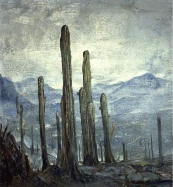 , 'Amanecer,' 1950, Galeria Enrique Guerrero
