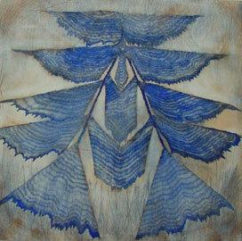 George Mead Moore, 'Pagoada azul', 2002, Galería Quetzalli