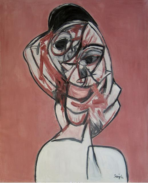 Juan Barjola, 'Retrato de mujer', ca. c 1990, Painting, Oil on canvas, Leandro Navarro