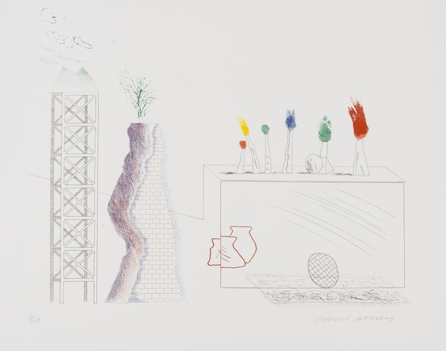 David Hockney, 'A Tune (S.A.C 180)', 1966-67, Forum Auctions