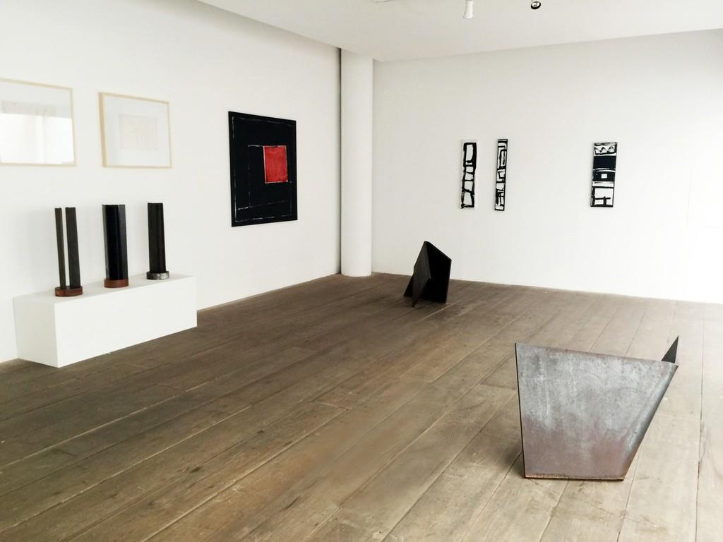 Amilcar de Castro Exhibition at Galeria Marilia Razuk, São Paulo. 2016