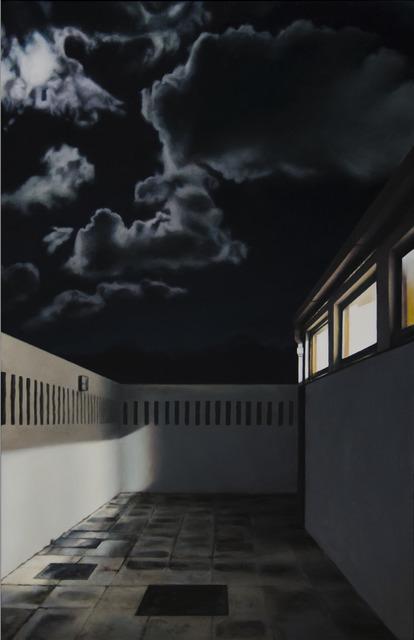 , 'Night Courtyard II,' 2017, Barnard