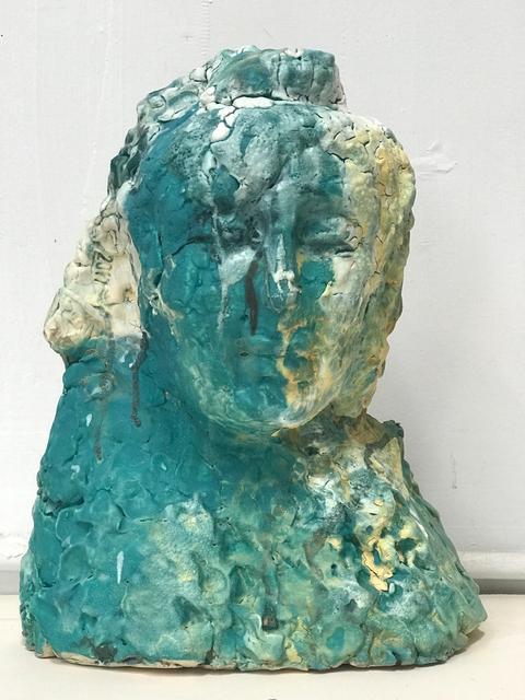 , 'Blue Buddha's Head,' 2018, Turner Carroll Gallery