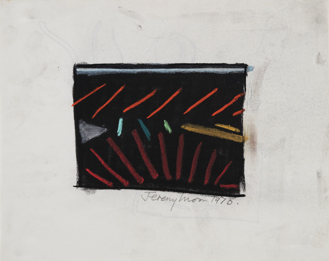 Jeremy Moon, 'Drawing [70]', 1970, Luhring Augustine