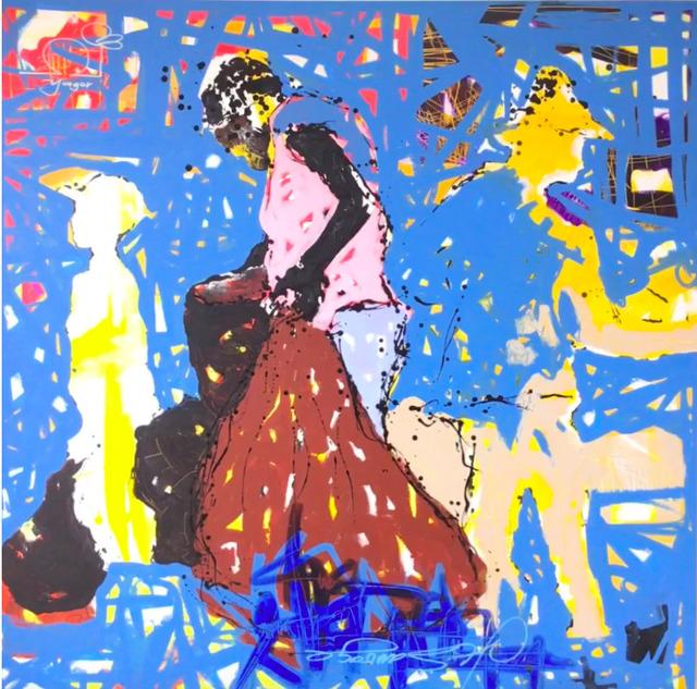 Yagor, 'Maman Adja ', 2018, LouiSimone Guirandou Gallery