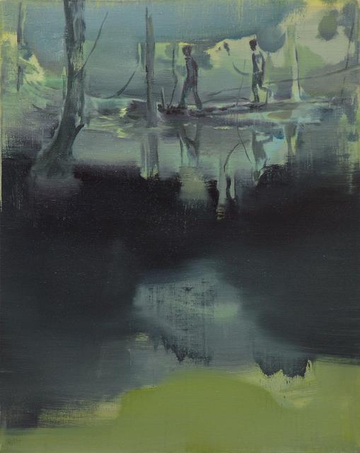 , 'Two Runaways 兩個逃亡者,' 2014, Galerie Huit