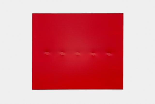 , 'Cinque ovali rossi,' 2015, Almine Rech