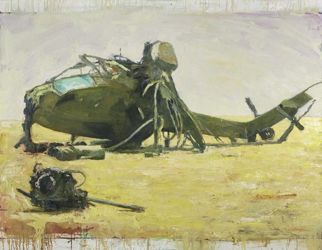 , 'Helicopter,' 2016, FRED.GIAMPIETRO Gallery