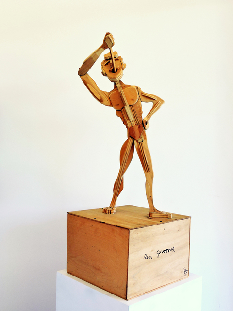 , 'Nude Sword Swallower,' 1997, Fritz Gallery