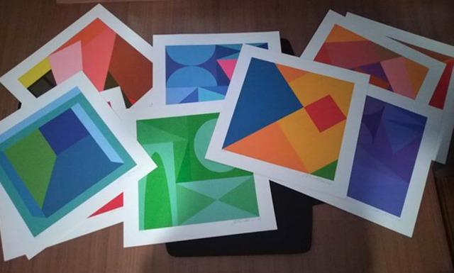 "Antonio Peticov, 'Album ""New 2019 Geometrics""', 2019, Ligia Testa Espaço de Arte"