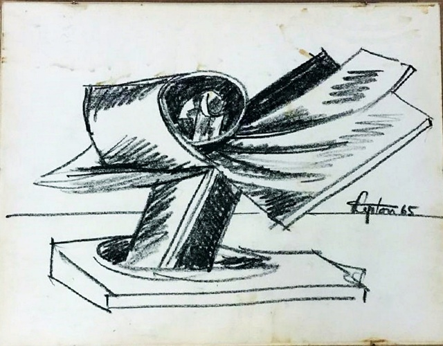 , 'Study for Pacific Bird Sculpture,' 1965, Alpha 137 Gallery
