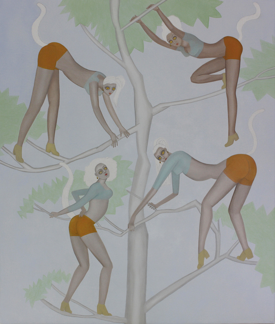 , 'The Lemur Dancers,' 2017, Dolby Chadwick Gallery