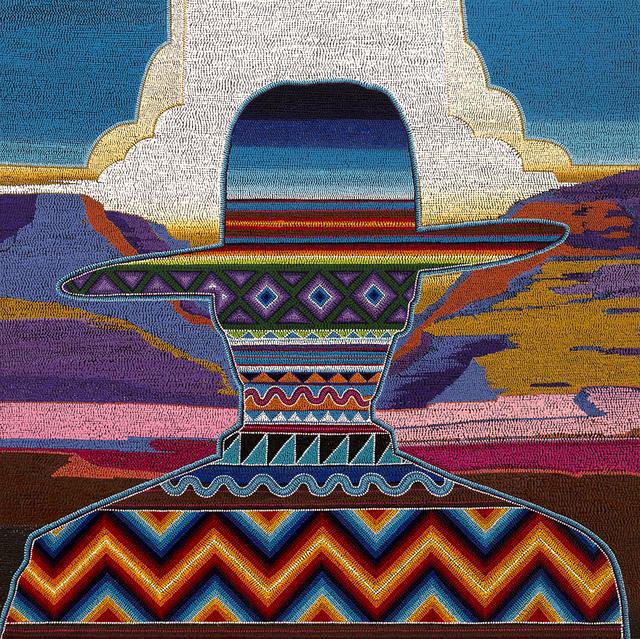 , 'Canyon Creek/Strange Canyon,' 2019, Blue Rain Gallery