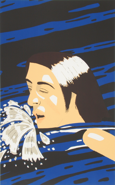 Alex Katz, 'Olympic Swimmer', 1992, RoGallery Gallery Auction