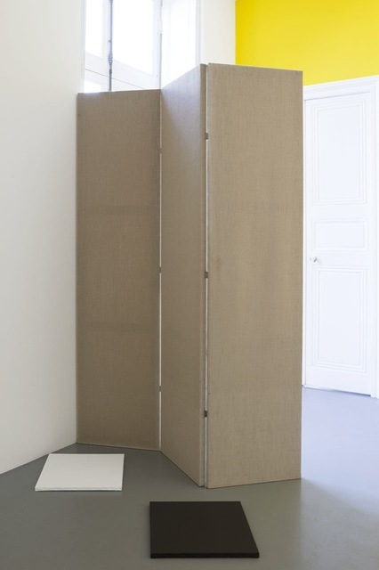 , 'de-finition/method mobile double-canvases, 3 pairs,' 1986, Perrotin