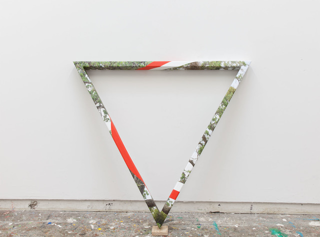 , 'Triangular Tree,' 2015, Luis De Jesus Los Angeles